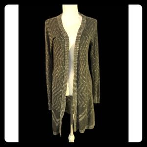 Mossimo Olive Green Cardigan